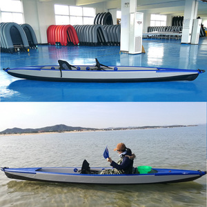 Double sit on top inflatable drop stitch kayak