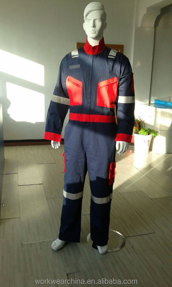 sailer cotton work coverall with good quality/Men's Long Sleeve Workwear Of Factory Price/Professional Overall Safety Workwear