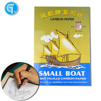 High quality 100 sheets Single Double side carbon paper handwriting A4 film carbon paper