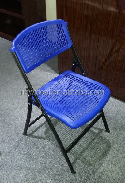 1mm powder coating steel tube plastic folding camping chair (NB3015)