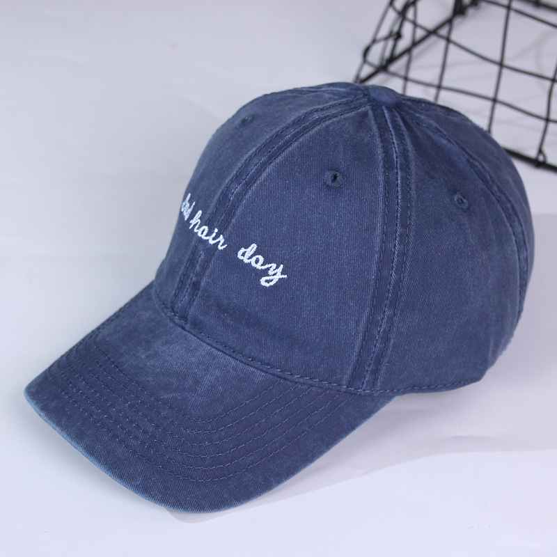 Hot selling fashion embroider baseball cap hats