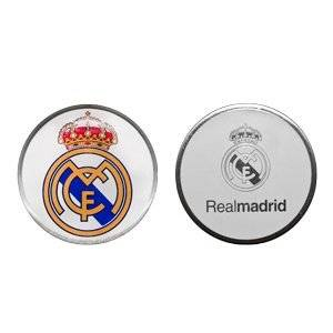 Real Madrid Double Sided Golf Ball Marker, Official Merchandise From Premier Licensing