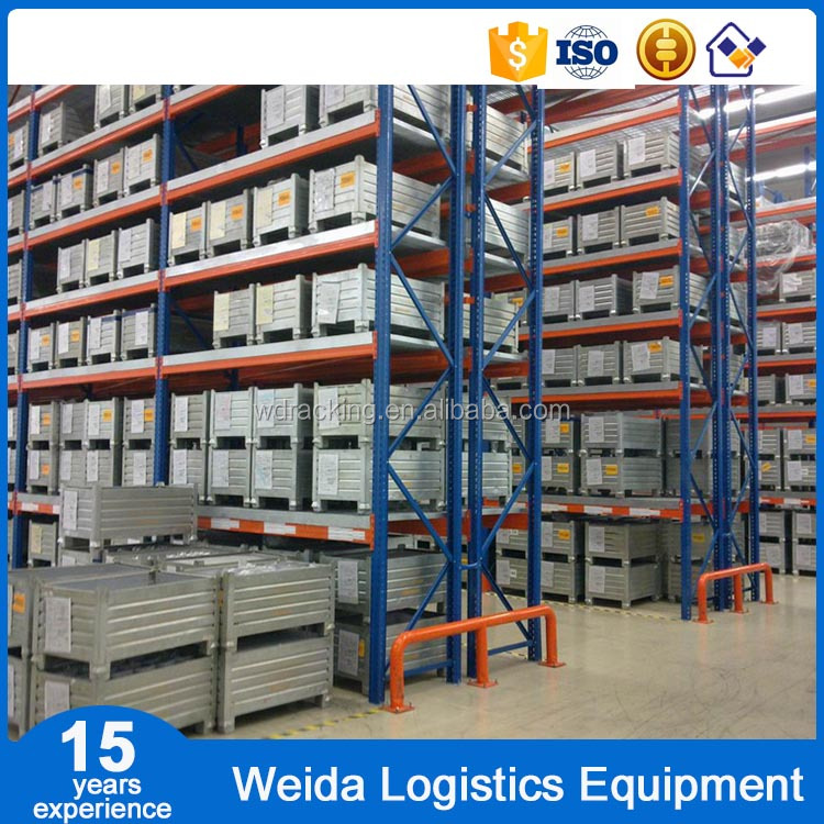 Corrosion Protection Heavy Duty Selective Pallet Racks and Shelves for Warehouse Storage 1,000-4,000 Kg UDL