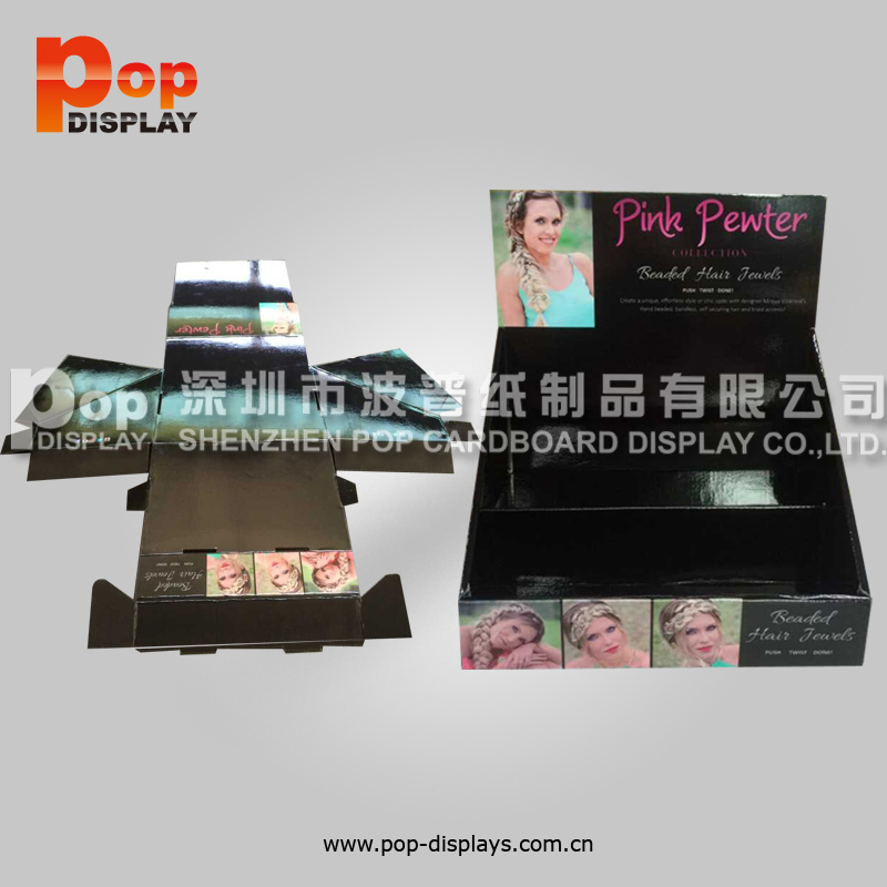 cosmetic store point of sale light box counter display