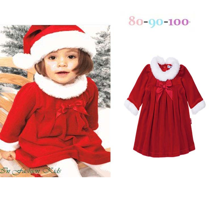 get quotations girls christmas dresses hat two piece dress baby christmas gift girl baby dress and
