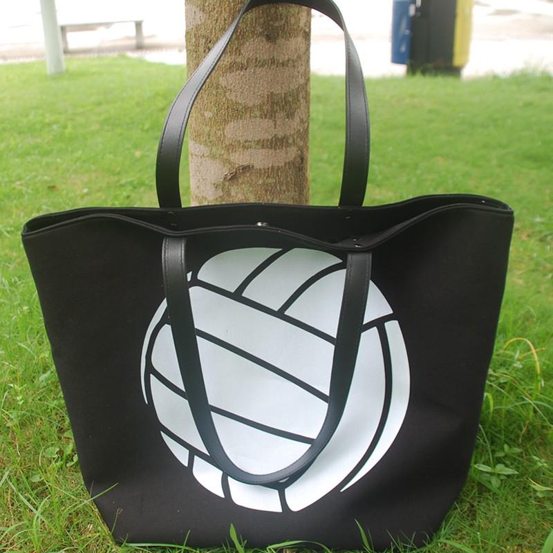 Wholesale Volleyball Tote Bag Canvas Volleyball Handbag Sport Casual  Shoulder Bag Dom-108348 - Buy Tote Bag 27e7b919169f9