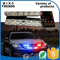 New 12 LED Emergency Vehicle Strobe Lights Car Flash Warning Lights for Front Deck