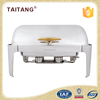 Oblong Chafing Dish 9L Restaurant Buffet Tables Top Chafer Dish