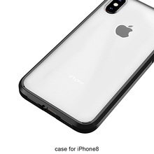 Wholesale Transparent Clear Case for iphone 8 Soft Silicon TPU Case Cover