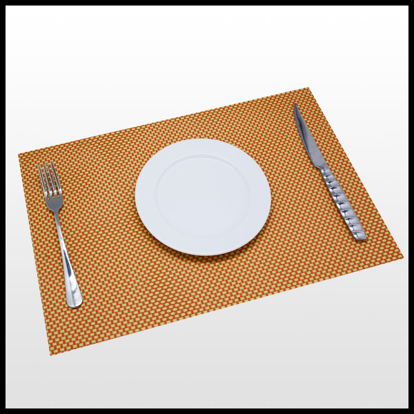 PVC waterproof cheap PP Plastic recycled plastic placemats