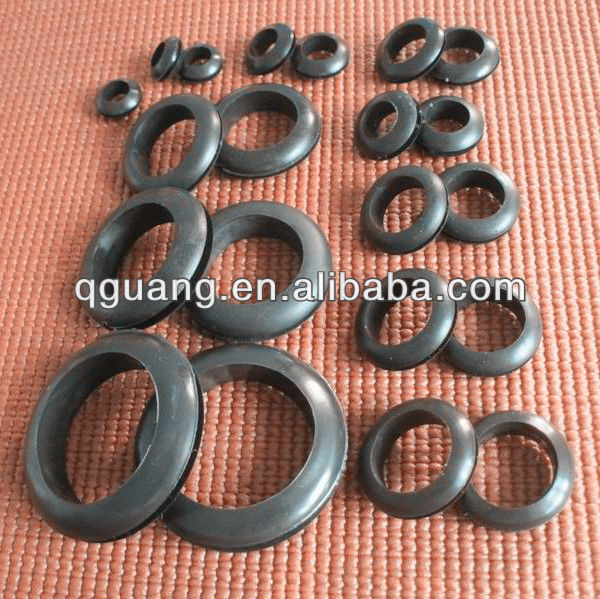 Electrical rubber grommet