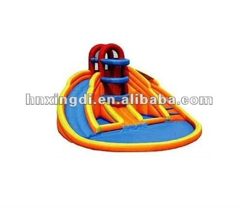 Hot sale amusement park inflatable play pool inflatable basketball games