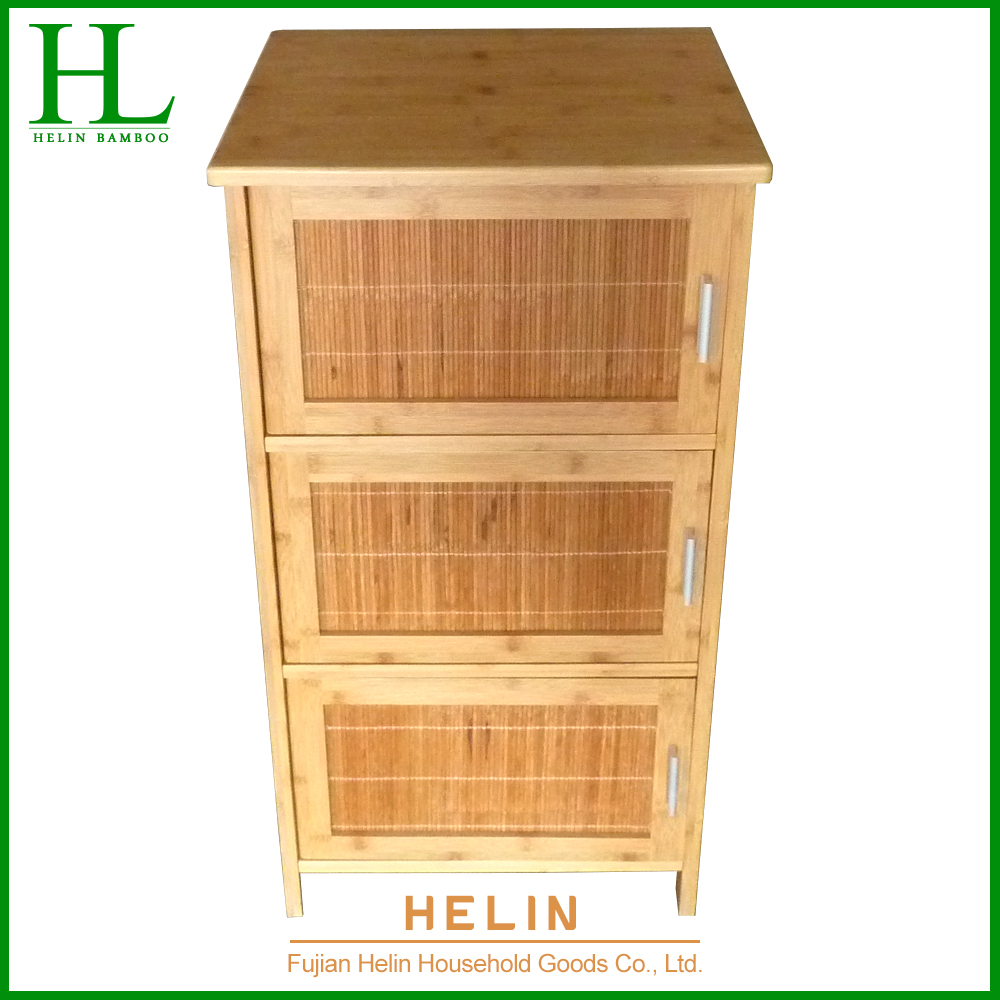 New Design 3 Tier Bamboo Bathroom Storage Rack