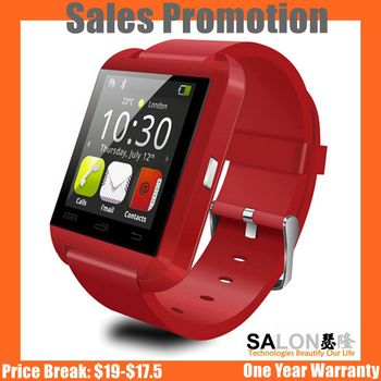 Hot Sale 2017 Promotional Gift U8 Smart Watch for Smart Phone Smartwatch U8