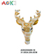 Natural Design Wall Hanging Statues Sculpture Resin Deer Antler
