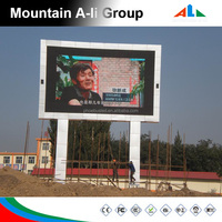 P16 Large Led Digital Billboards Advertising , Full Color Led Signs Outdoor