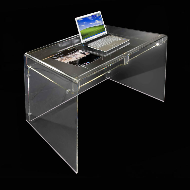 New Design Supreme Office Furniture Clear Acrylic Writing Desk