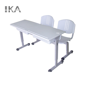 Price plastic school tables and chairs set/ wholesale student plastic desk chairs