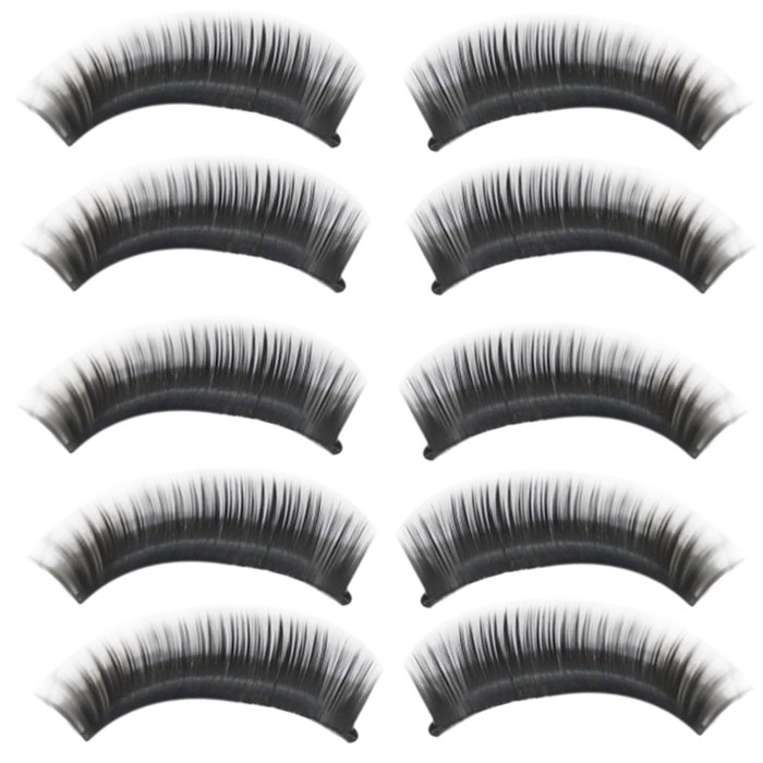 f85215a0ba4 Deliacte 10 Pairs/lot Natural Long Thick Black False Eyelashes Charming Eye  Lashes Makeup Jun5 Hot Selling – Unfair Weight