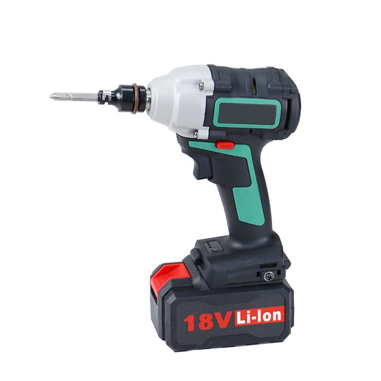 Zhejiang fast shipping 18V li-ion battery tool kit brushless Cordless Impact Wrench