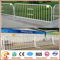2014 Hot Sale Olympic Games Supplier Movable Fence Galvanized Temporary Fencing