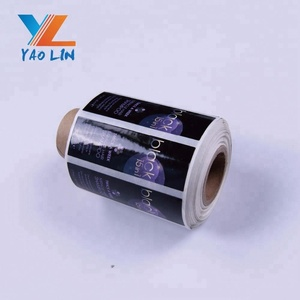 Self-adhesive paper gummed packing label