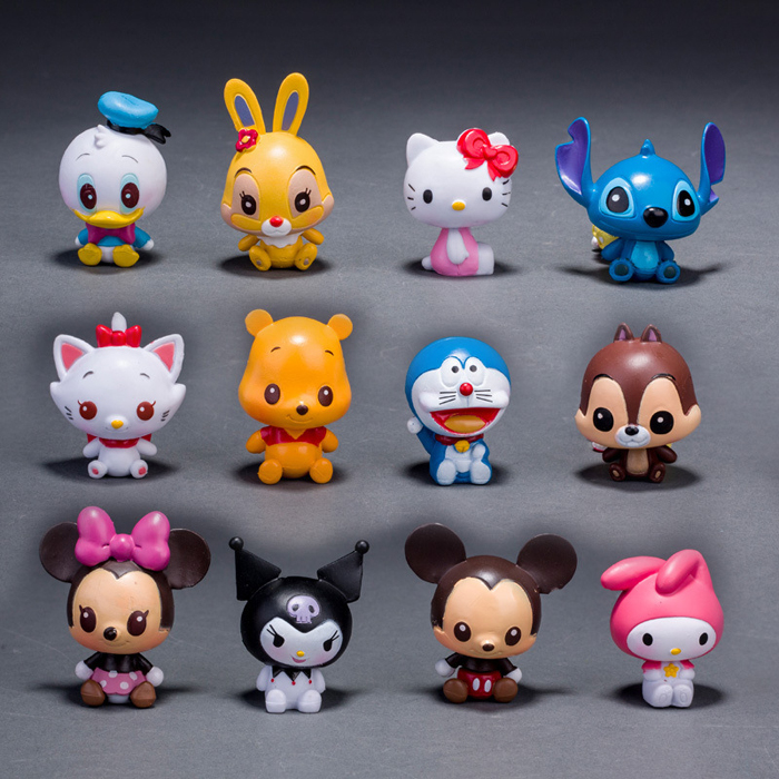 different characters toy tsum tsum