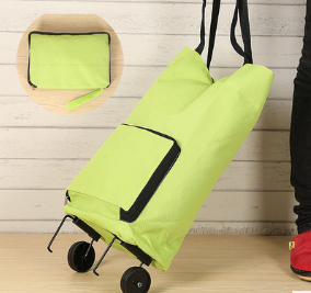 Creative folding rod package hold-all duffel bag The large capacity portable luggage Oxford cloth men and women