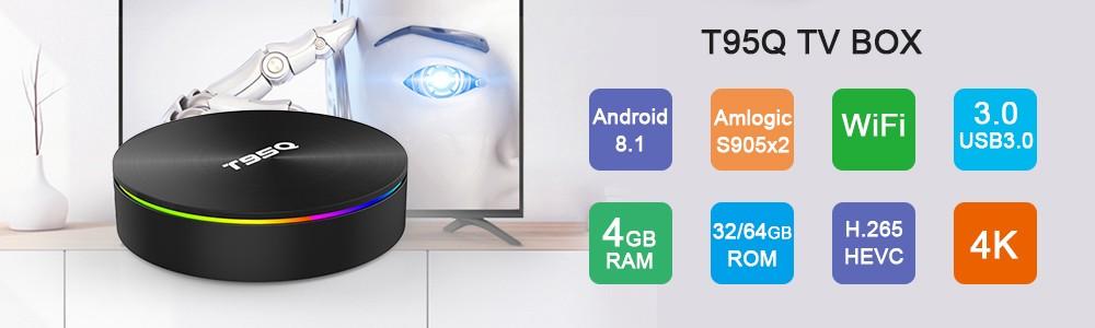 2019 comentarios positivos Amlogic S905W Quad Core 1 gb Android Tv Box 7,1 TX3 MINI
