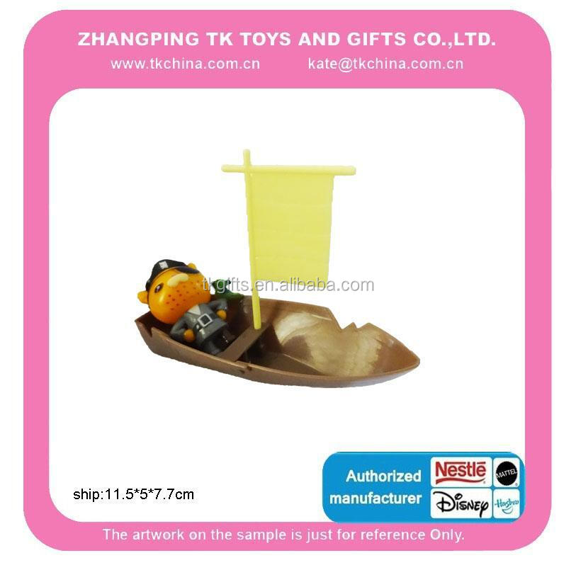 2017 New Promotion Gift Baby Toy Plastic Pirate Ship Toy