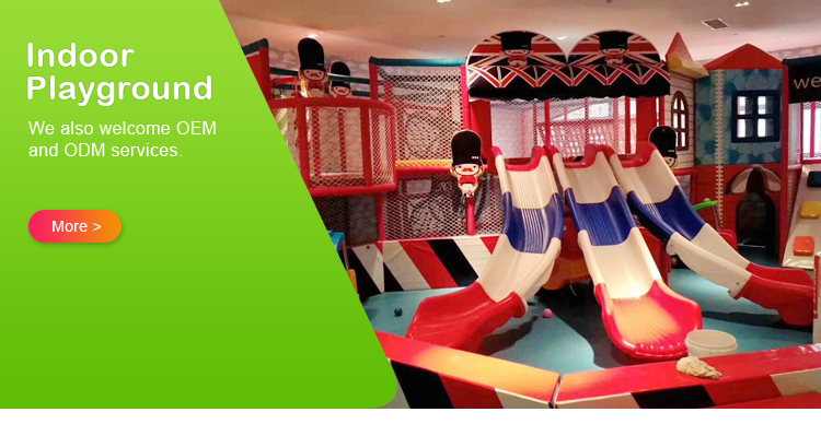 New Design UK Theme Indoor Playground with Ball Pool and Trampoline/Kid's Play Structure Equipment