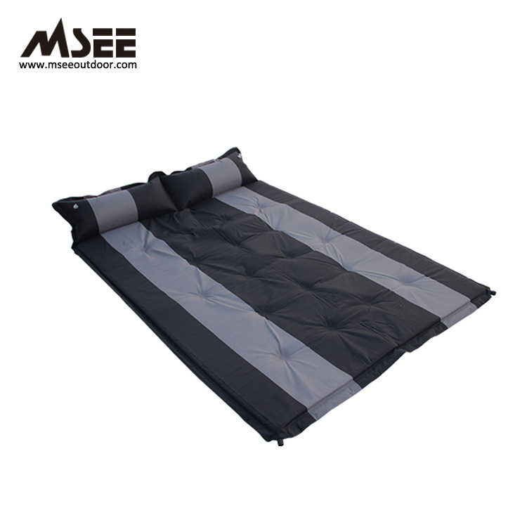 MSEE Slapen Pad Twee Mensen opblaasbare auto dubbel stapelbed lazy bed dubbele air matras