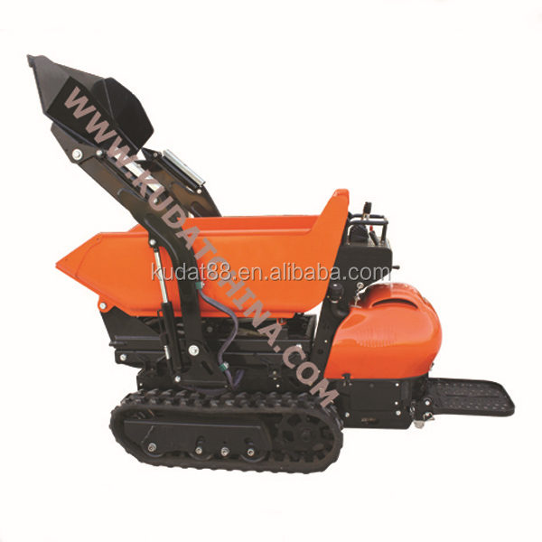 2014 kudat mini dumper,electric barrow wheel,crawler power barrow made in china