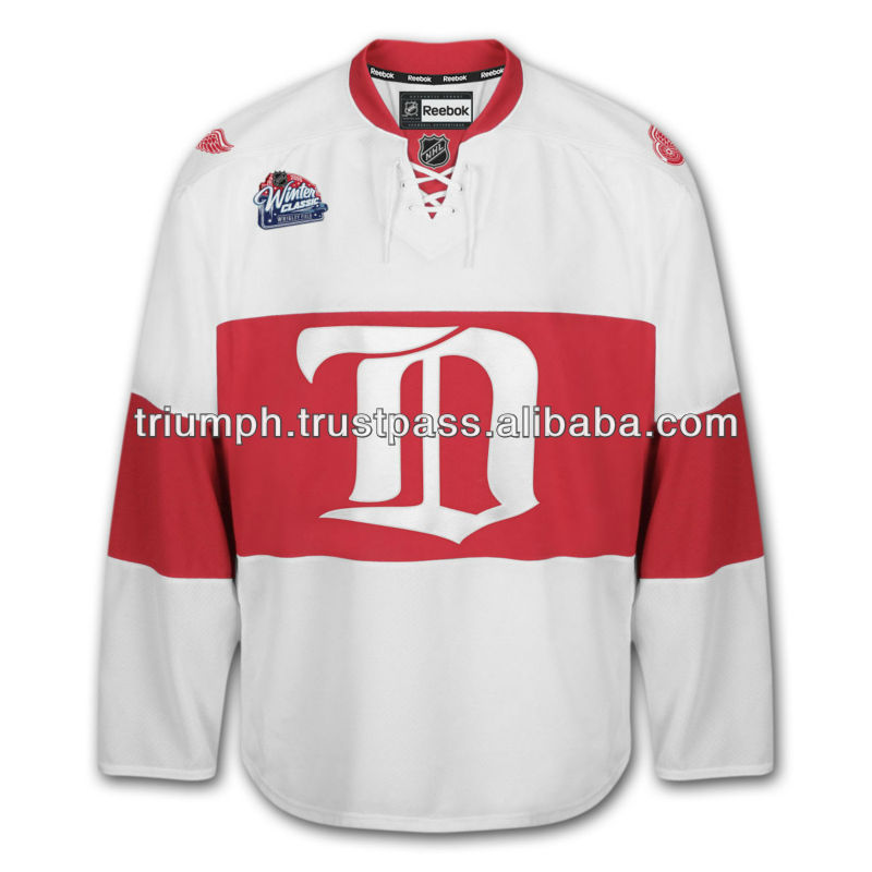 winter classic red wings jersey