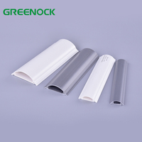 Arc PVC Trunking Electrical Cable Protector Floor Cable Cover 12X12 28X14 30X15 40X16 40X25