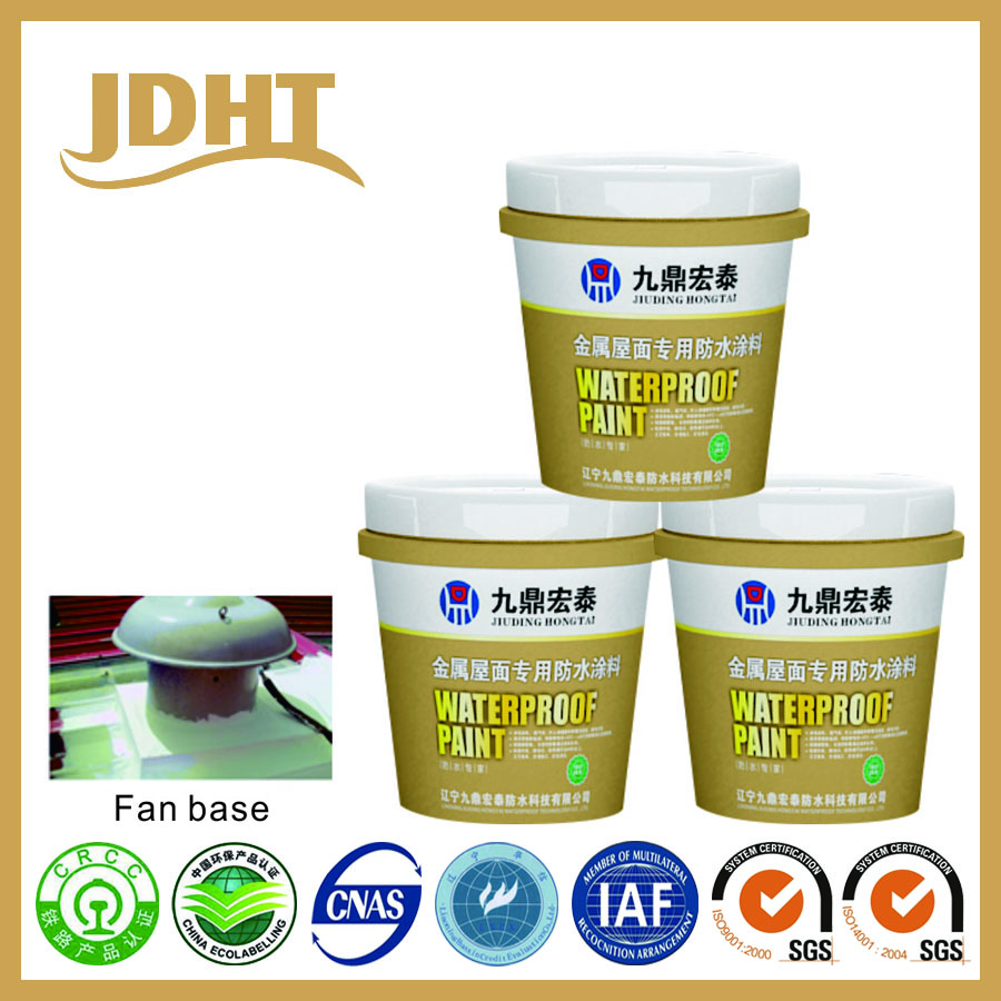 JS spray acrylic waterproof coating for metal roof
