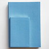 Wedding Faux Leather Notebook Sail Blue PU Diary Covers with Custom logo