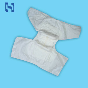Super absorbent breathable organic nappy disposable defective adult diaper