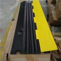 Wholesale large load capacity cable speed hump, multiple-channel cheap cable protection cover on sale