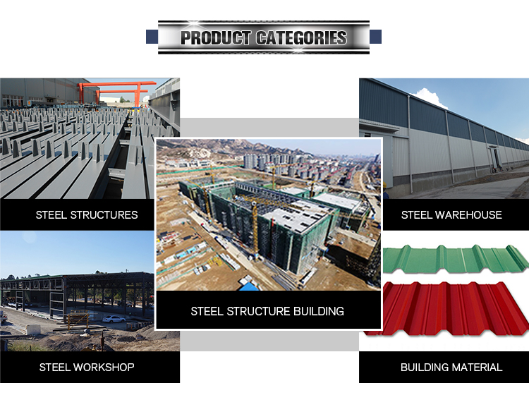 Single Line High Strength Economical Steel Structure Fabrication