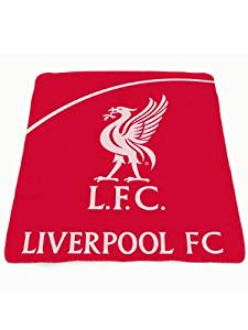 Team Fleece Blanket Liverpool - by Liverpool F.C.