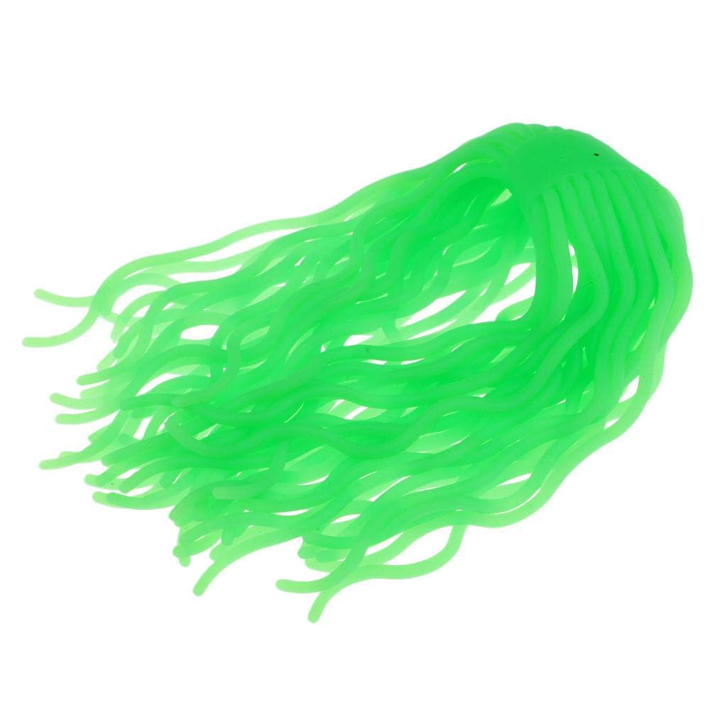 MagiDeal Fly Tyling Worm Body Squirmy Wormy Material Fly Tying Material DIY Tool Ultra Soft Plastic