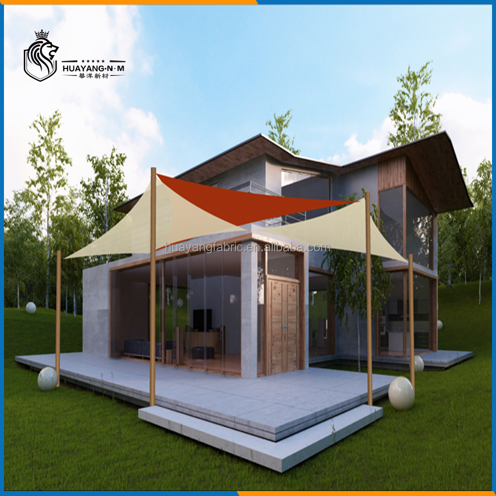 UV production HDPE home gazebo shade sails