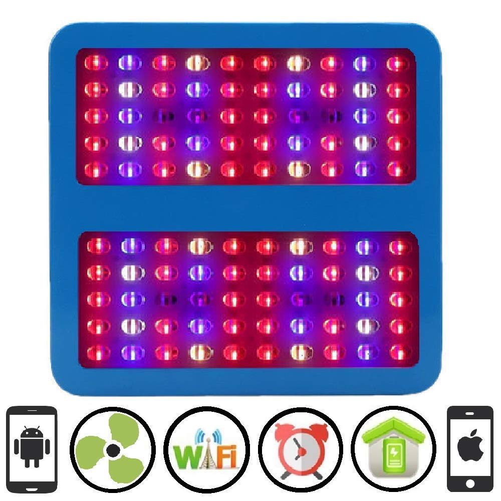 Cultivation Rx WiFi 1000W LED Smart 100XL Chip Grow Light Panel for Indoor Hydroponic Grow Garden