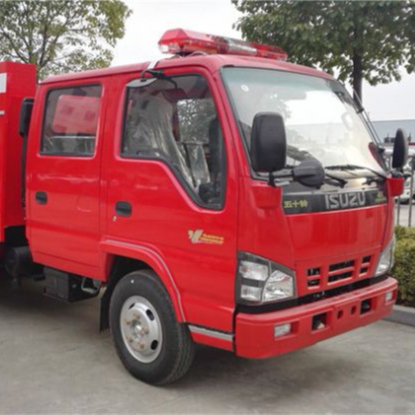 3C Certificate Tank Fire Truck Engine Water Capacity