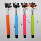 Z07-5 plus,wired Selfie Stick, Extendable Handheld Monopod Audio cable wired Selfie Stick take photo for IOS Android smart phone