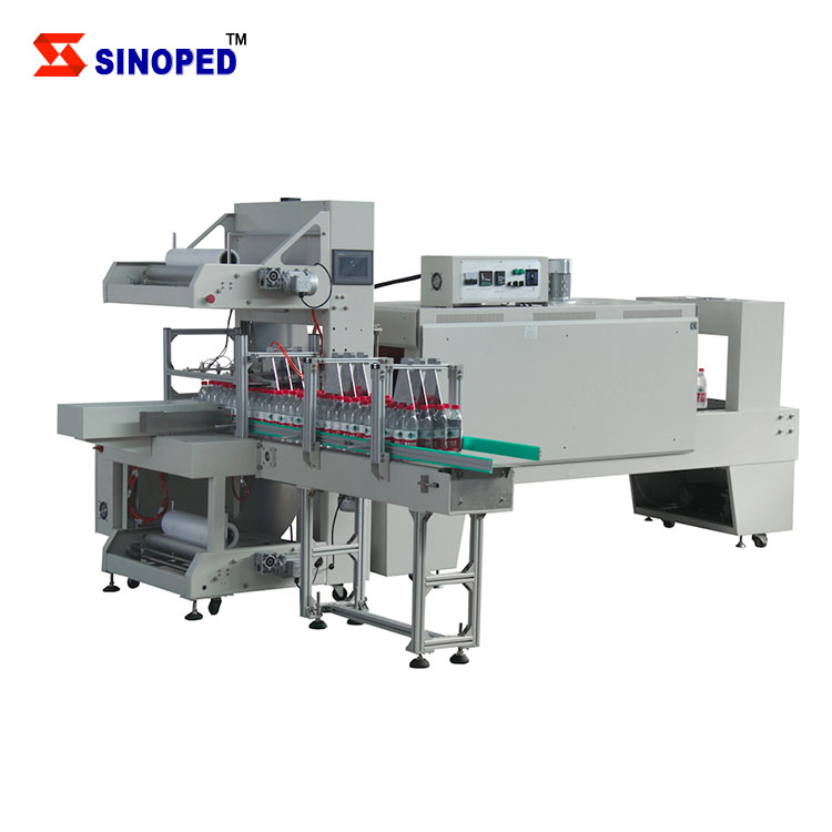 Automatic Shrink Sleeve Machine / Sleeve Wrapping Machine with Shrink Tunnel