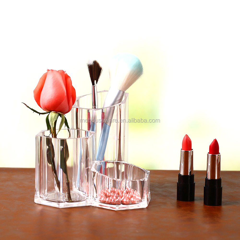 Cosmetic Brush Acrylic Makeup Organizer