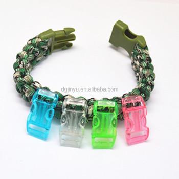 Paracord bracelet materials