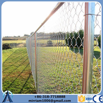 China Goods Wholesale chain mesh & cyclone fencing guaranteed with a 7 and 12 year coating warranty